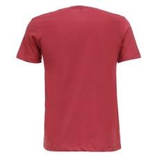 Camiseta Masculina Vermelha Básica Wrangler Original 28266