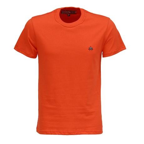 Camiseta Masculina Vermelha Gola Redonda Rodeo Western 26355