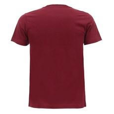 Camiseta Masculina Vinho Estampada Made in Mato 28719