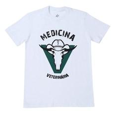 be174c7b898c5 Camiseta Medicina Veterinária Masculina Branca - Top Bulls 17531 ...