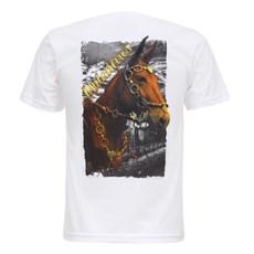 Camiseta Muladeiros Branca Masculina Texas Diamond 27823