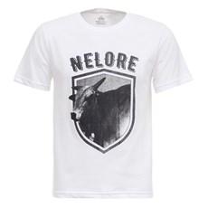 Camiseta Nelore Branca Masculina Texas Diamond 27832