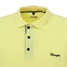 Camiseta Polo Amarela Masculina Original Wrangler 28275