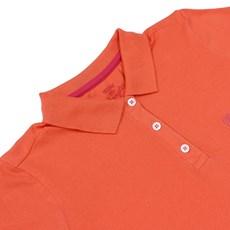 9d43c9bdee Camiseta Polo Feminina Laranja Wrangler 22055 Camiseta Polo Feminina  Laranja Wrangler 22055