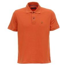 Camiseta Polo Masculina Laranja Tassa 28161