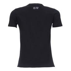 Camiseta Preta Feminina Básica Tuff 28357