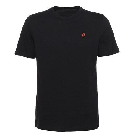 Camiseta Preta Masculina 100% Algodão Tassa 24863