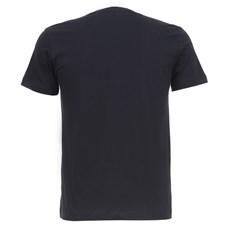 Camiseta Preta Masculina Básica Wrangler Original 28265