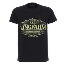 Camiseta Preta Masculina King Farm 27999