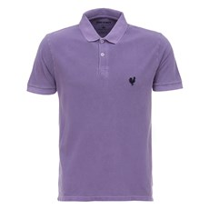 Camiseta Roxa Masculina Gola Polo Made In Mato 28515