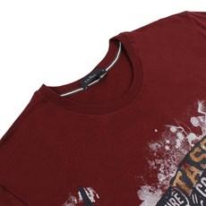 Camiseta Tassa Masculina Vinho 23865