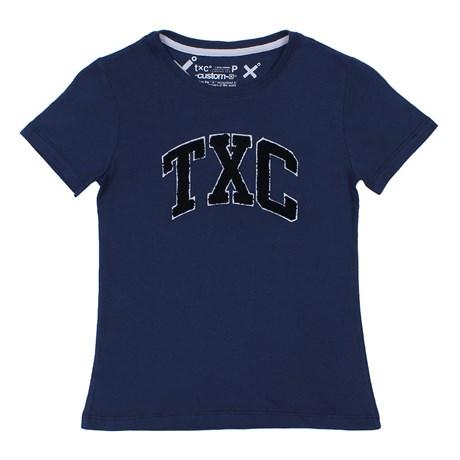 Camiseta TXC Azul Marinho Feminina 26604