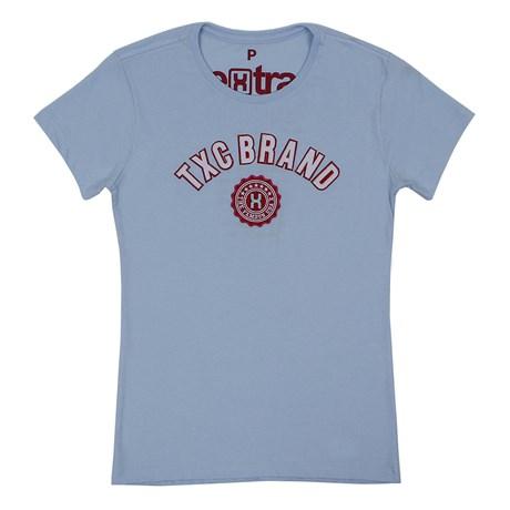 Camiseta TXC Feminina Azul Bebê 26598