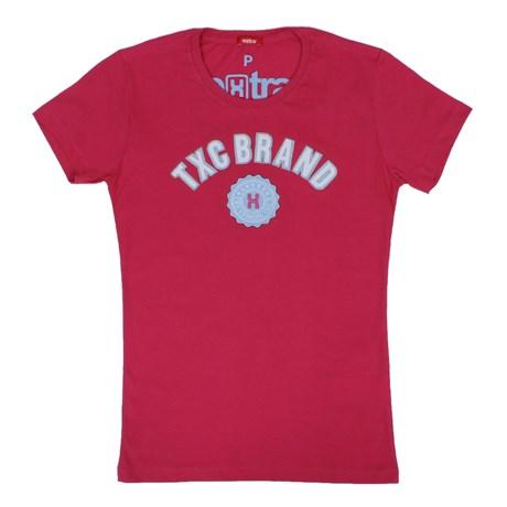 Camiseta TXC Feminina Pink 26600