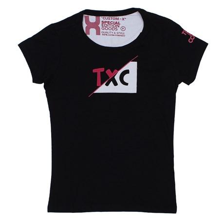 Camiseta TXC Preta Feminina 26597