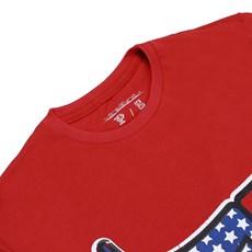 Camiseta Vermelha Gringa's Western Original Masculina 24512