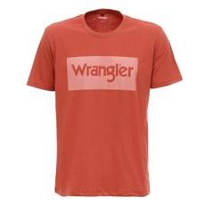 Camiseta Vermelha Masculina Original Wrangler 28029