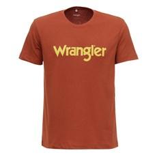 Camiseta Vermelha Masculina Original Wrangler 28190