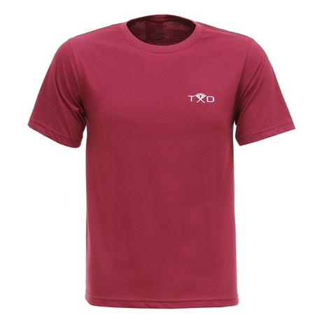 Camiseta Vinho Muladeiros Masculina Texas Diamond 27820