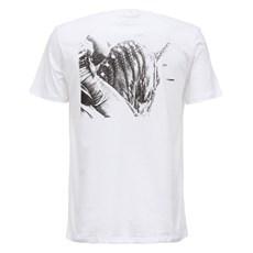 Camiseta Wrangler Masculina Mangalarga Branca Original 27518