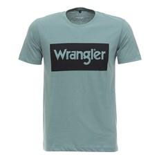 Camiseta Wrangler Original Masculina Verde 27939
