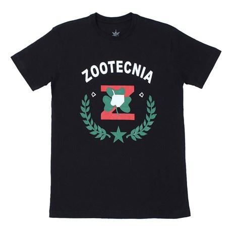 Camiseta Zootecnia Masculina Preta - Top Bulls 17526
