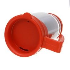 Caneca Semi Térmica Vermelha Revestida em Alumínio Rodeo West 29066