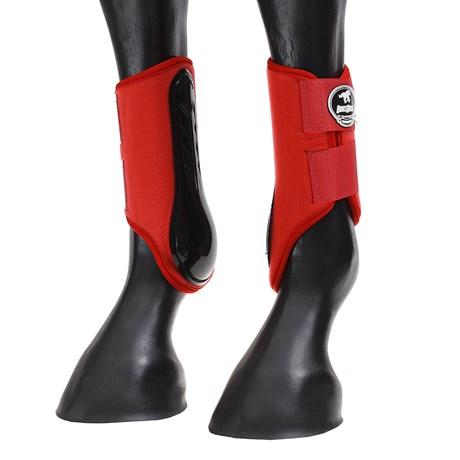 Caneleira Lateral Boots Horse Vermelha 26912