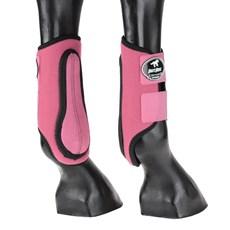 Caneleira Lateral para Cavalo Boots Horse Rosa 25770