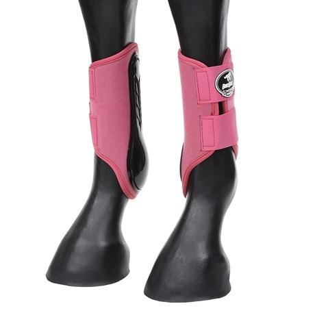 Caneleira Lateral para Cavalo Boots Horse Rosa 27213