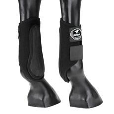 Caneleira Lateral Preta Boots Horse Neoprene 25767