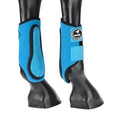 Caneleira para Cavalo Boots Horse Azul Lateral 25766