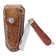 Canivete com Bainha Country Marrom Rodeo West 19827