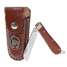 Canivete com Bainha Marrom Rodeo West 19821