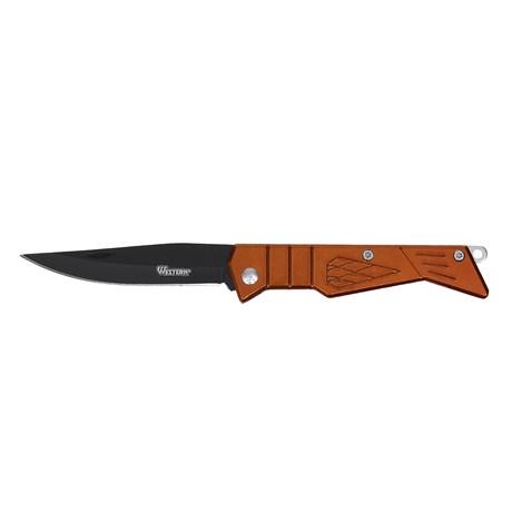 Canivete com Lâmina de Aço Inox e Cabo Laranja Western 29386