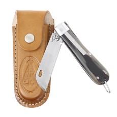 Canivete de Chifre com Lâmina em Aço Inox e Bainha Nossa Senhora Rodeo West 29591