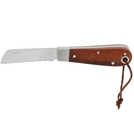 Canivete em aço inox com Lâmina lisa - Cimo 17560