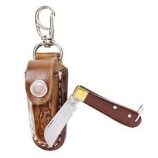 Canivete Inox Chaveirinho com Bainha Rodeo West 19813