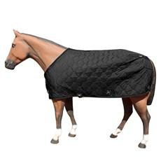 Capa para Cavalo Forrada Aberta no Peito Preta - M Reis 17762