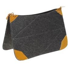Carona de Carpete com Detalhes em Amarelo Bronc-Steel 29276