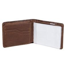 Carteira com Porta Cartão e CNH DH Couros Masculina 24065
