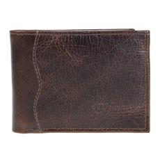 Carteira de Bolso Couro Masculina Marrom DH Couros 25607