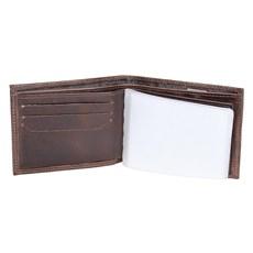 Carteira de Bolso Marrom  Masculina DH Couros 23176