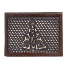 Carteira em Couro Bordado Nossa Senhora Aparecida Pyramid Country 27564