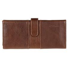 Carteira em Couro Legítimo Grande com Porta Cheques DH Couros 24068