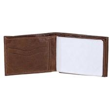Carteira Masculina de Couro com Porta Moedas DH Couros 24061