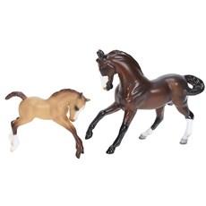 Cavalo e Potro Desportivo Breyer Stablemates 20402