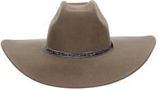 Chapéu Aba Larga Castor Com Bandinha Entalhada Texas Diamond 21028