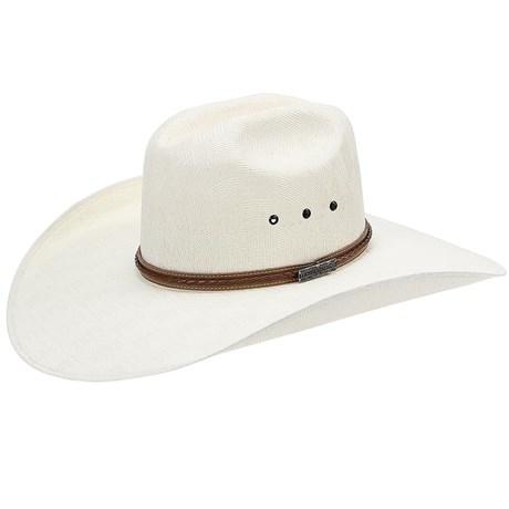 Chapéu Branco Aba Larga Texas Diamond Fenix 21071