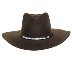 Chapéu Cavalgada Bandinha com Pedras de Vidro Texas Diamond 26377